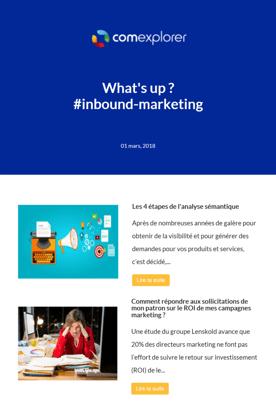 Newsletter inbound-marketing