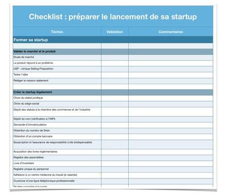 checklist-lancement-startup